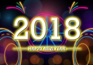 Kumpulan Gambar DP BBM Selamat Tahun Baru 2018